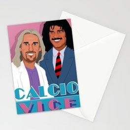 Batistuta and Gullit in Calcio Vice Stationery Cards