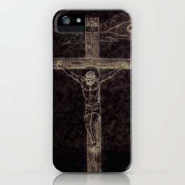 I preach Christ & Christ Crucified iPhone Case