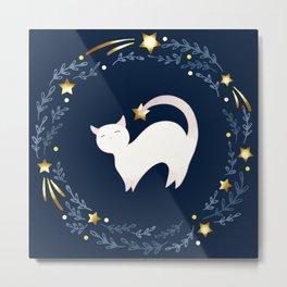 Zodiac cat - Scorpio Metal Print