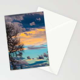 Colorful Colorado Sunset Stationery Cards