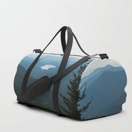 Smoky Mountain National Park -  Mountain Lake Landscape Duffle Bag