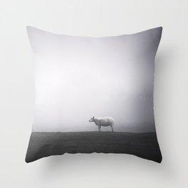 A Moment Of Calm by Cat Burton Throw Pillow