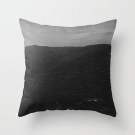 Dark Landscape 1 Throw Pillow
