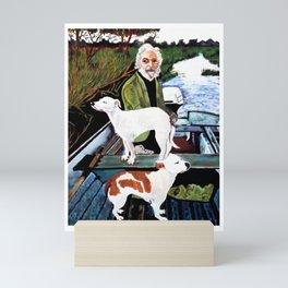 Goodfellas Dogs Painting, Artwork for Wall Art, Prints, Poster, Tshirts, Men, Women, Youth Mini Art Print