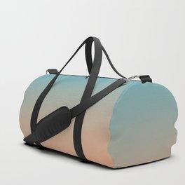 Blue/Orange Contrast Duffle Bag