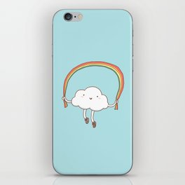Rainbow Skipping iPhone Skin