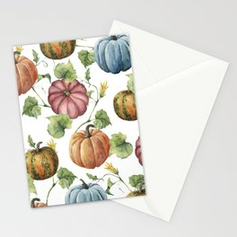 PUMPKINS WATERCOLOR Stationery Cards