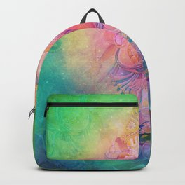 Psychedelic Trippy Ganesh Backpack