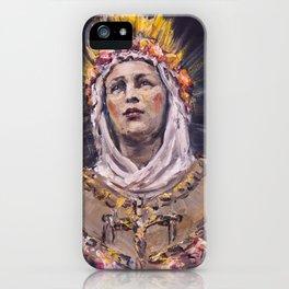 Our Lady of La Salette iPhone Case