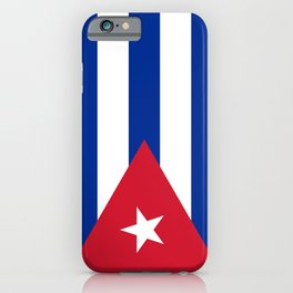 National flag of Cuba - Authentic HQ version iPhone Case