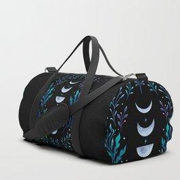 Moonlight Garden - Blue Duffle Bag