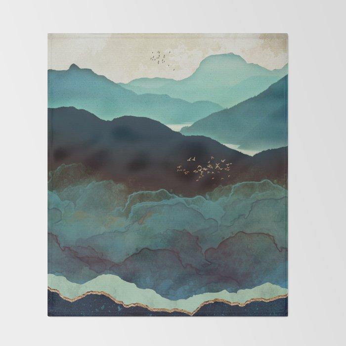Indigo Mountains Decke