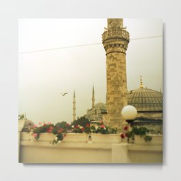 Istanbul, Turkey: View from the Hotel Metal Print