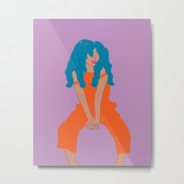 Angelica Metal Print