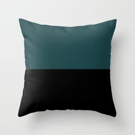 Contemporary Color Block XII Throw Pillow