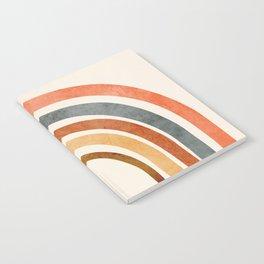 Abstract Rainbow 88 Notebook