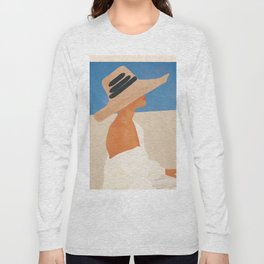 Summer Hat Long Sleeve T-shirt