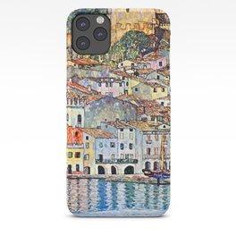 Gustav Klimt Malcesine on Lake Garda iPhone Case