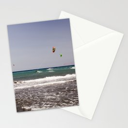 Kite surfing holiday sports Stationery Cards