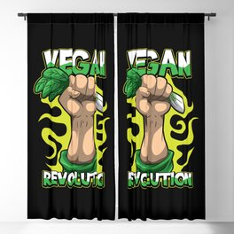 Vegan Revolution Blackout Curtain