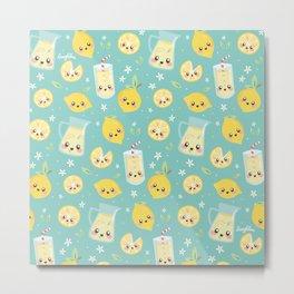 Cute Lemonade Metal Print