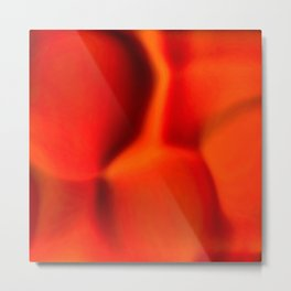 popped fire, extreme close up Metal Print