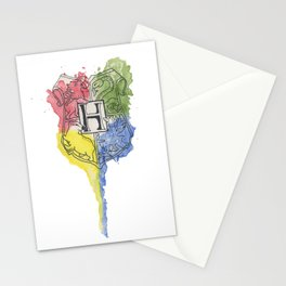 Hp Crest Stationery Cards