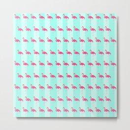 Pretty Little Flamingo Metal Print