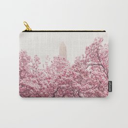 New York City - Central Park - Cherry Blossoms Carry-All Pouch