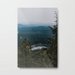 Echo Lake in The White Mountains Metal Print