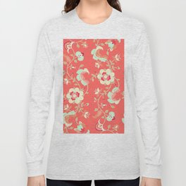 coral adrienne Long Sleeve T-shirt