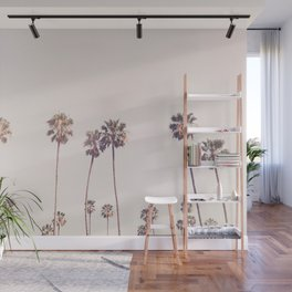 Sunny Cali Palm Trees Wall Mural