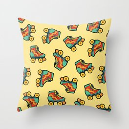 Get your skates on! Throw Pillow