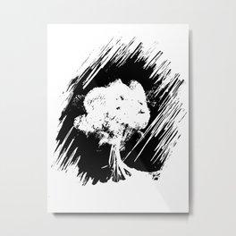 Trees, leaves and fingerprints Metal Print