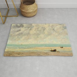 Gustave Courbet - The Calm Sea Rug