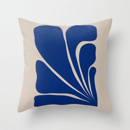 Six Leaves Plant Throw Pillow