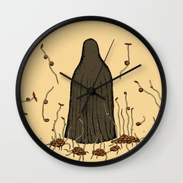 Lentil sprouts Wall Clock