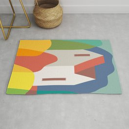Geometric cottage Rug