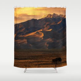 The dunes of Colorado Shower Curtain
