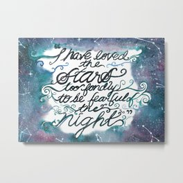The Old Astronomer Metal Print