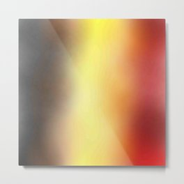Flag of belgium 8 - with cloudy colors Metal Print