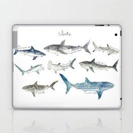 Sharks Laptop & iPad Skin