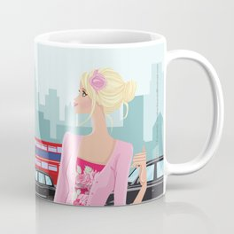 London Rose Coffee Mug