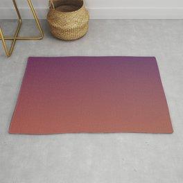 MIDNIGHT GLOW - Minimal Plain Soft Mood Color Blend Prints Rug