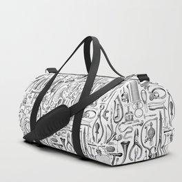 Medical Condition B&W Duffle Bag