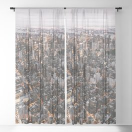 NYC Manhattan Sheer Curtain