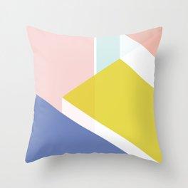 Geo Architect (i) Throw Pillow