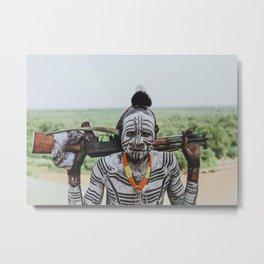 Karo Tribe V Metal Print