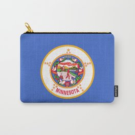Minnesota Flag Carry-All Pouch