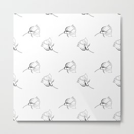 Expensive Line Art Metal Print